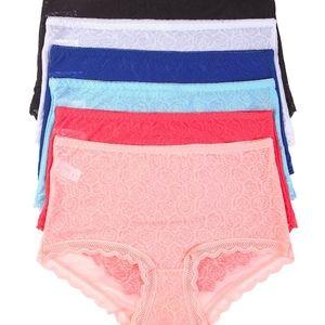 12 PAIRS   Mamia Lace Brief Panty - LP9030LR